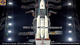 Download Launch of GSLV MkIII - M1 / Chandrayaan - 2 Mission – LIVE from Satish Dhawan Space Centre Video