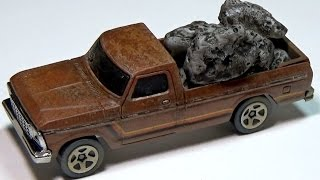 Download Custom Hot Wheels 1979 Ford Pickup and Casting in Hot Glue Video