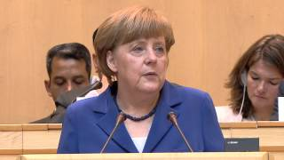 Download WHO: WHA 68 - Speech by Angela Merkel, Chancellor of Germany Video
