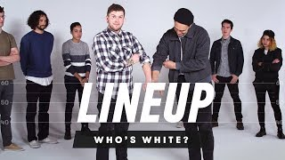 Download People Guess Who is White In a Group of Strangers | Lineup | Cut Video