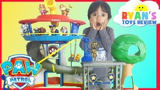 Download PAW PATROL TOYS Look out Playset Jumbo Sized Action Pup Marshall Rescue Training Center Nickelodeon Video