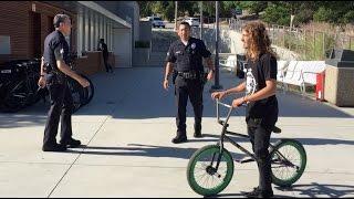Download BMX VS COPS Video