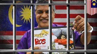 Download Malaysian cartoonist Zunar arrested as PM Najib Razak continues free speech crackdown - TomoNews Video