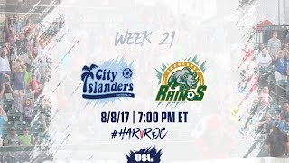 Download USL LIVE - Harrisburg City Islanders vs Rochester Rhinos 8/8/17 Video