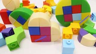 Download Building Blocks Toys for Children Learning Shapes for Kids Toddlers Video