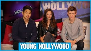 Download THE MAZE RUNNER Cast on Pink Party Buses & Greenie Moments! Video