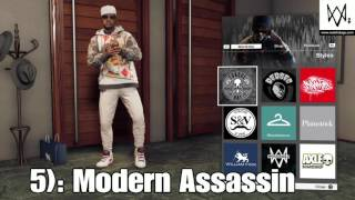 Download Top 10 Outfits in Watch Dogs 2 Video