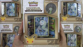 Download Opening 5 Meloetta Mythical Collection Boxes Video