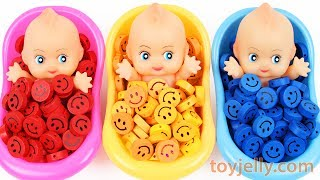 Download Baby Finger Family Song Learn Colors Baby Doll Smiley Candy Bath Time Surprise Eggs for KID Children Video
