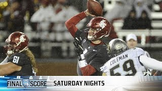 Download Washington State's Luke Falk sets two Pac-12 records as Cougs down Colorado Video
