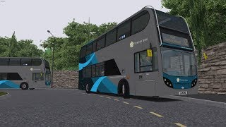 Download Omsi 2: Yorkshire 2.0.1 | Line X2 | London Citybus C400R Trident Video