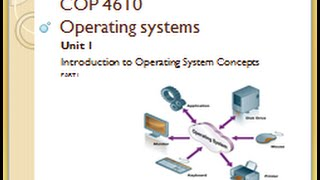 Download MODULE 1 - VIDEO 1 - Introduction to operating systems concept Video