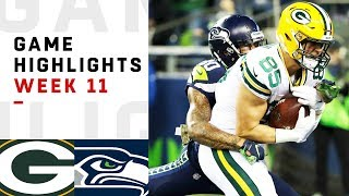 Download Packers vs. Seahawks Week 11 Highlights | NFL 2018 Video