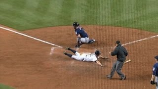Download MIN@NYY: Gardner hits an inside-the-park homer Video