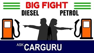 Download Diesel Car Vs Petrol Car, The Big Fight, हिन्दी में, CARGURU Explains, Tata, Toyota, Honda, Hyundai Video