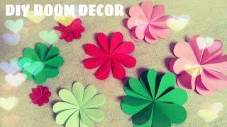 Download DIY Trang trí phòng ngủ - Làm hoa trang trí bằng giấy Video