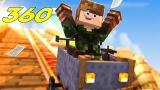 Download MINECRAFT EM 360° l MONTANHA RUSSA Video