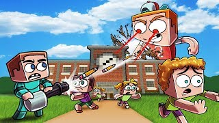 Download Minecraft | BULLY.EXE VS BASE - Giant Bully's Revenge! (BULLY BASE CHALLENGE) Video