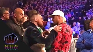 Download [Short-Clip] Conor McGregor​ and Sergey Kovalev​ exchanging words (at Michael Conlan's fight) Video