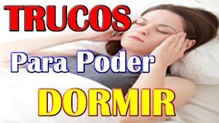 Download PARA DORMIR Y CONCILIAR EL SUEÑO TE DOY ESTOS CONSEJOS Y TRUCOS Video