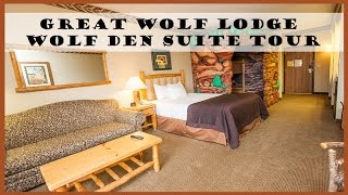 Download BG Travel: Great Wolf Lodge Wolf Den Suite Room Tour Video