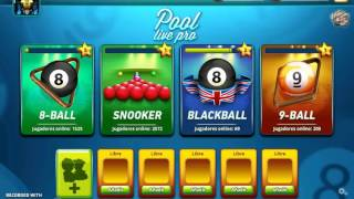 Download Hack Para Pool Live Pro -FUNCIONANDO- 2017 Video