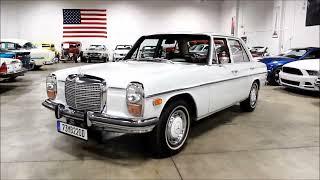 Download 1973 Mercedes Benz 220 D Video