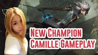 Download Camille Top Lane Gameplay | Going against Thirsty Vayne Main is Cancer | League of Legends Video