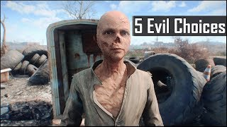Download Fallout 4: 5 Most Evil Things You Can Do and May Have Missed in the Wasteland Video