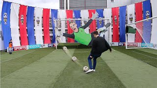 Download SOCCER AM CAR PARK CHALLENGE!!! YouTubers Vs Palmers FC Vs The Mechanical Neuer Video