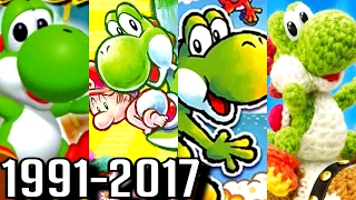 Download Yoshi ALL INTROS 1991-2017 (3DS, Wii U, DS, SNES) Video