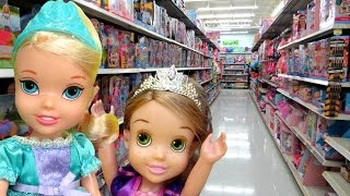 Download TOY HUNT with ELSA and Rapunzel toddlers ! Lots of toys and dolls ! Playing , singing Video