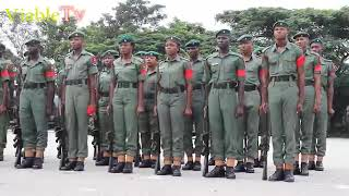Download Nigerian Army Colour Party Parade Video