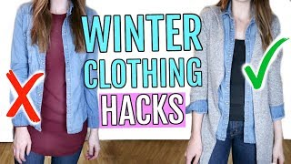 Download Winter Clothing Hacks You Need to Know Video