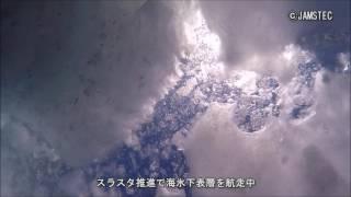 Download 小型AUV試作機による北極海海氷下の撮影に成功 Video