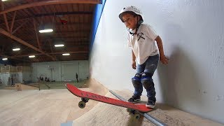 Download 3 YEAR OLD SKATEBOARDER! Video
