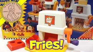 Download McDonald's Happy Meal Magic French Fry Snack Maker Set, 1993 Mattel Toys (Fun Recipes) Video