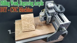 Download How to Make a CNC Machine Engraving Cutting Milling with 775 Motor Video