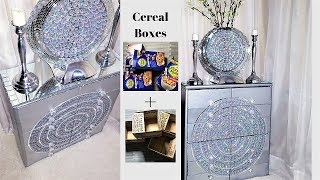 Download HOW TO TURN CEREAL BOXES| BOXES INTO A UNIQUE STORAGE| HOME ORGANIZATION 2019 Video