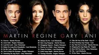 Download Martin Nievera ,Regine Velasquez ,Gary V & Lani Misalucha OPM Tagalog Love Songs Playlist Video