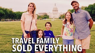 Download Couple Sold Everything to Travel & Homeschool their 3 Kids | Family World Travel Video