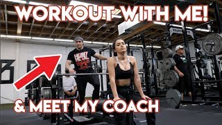 Download WORKOUT WITH ME! & Meet My Coach ft. Omar Isuf Video