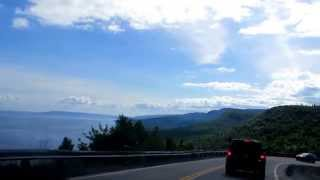 Download Cape Breton Highlands National Park of Canada-临海山路 Video