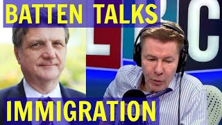 Download Gerard Batten Discusses MASS IMMIGRATION With Andrew Pierce - LBC Video