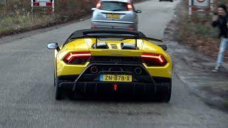 Download Supercars Accelerating - M6 GT3, 2020 RS6 C8, N-Largo F12, M8 Competition, Milltek RS3, Pista Spyder Video