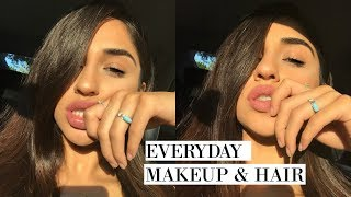 Download GRWM FOR SCHOOL | HOW I DO MY MAKEUP & HAIR EVERYDAY Video