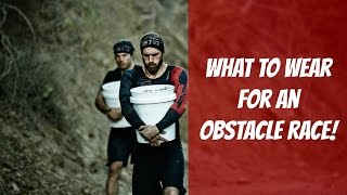 Download What to Wear for an Obstacle Course Race [Spartan Race, Warrior Dash, Tough Mudder] Video