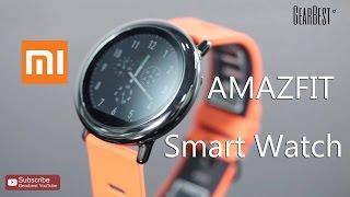 Download Xiaomi AMAZFIT Sports Smart Watch - Gearbest Video