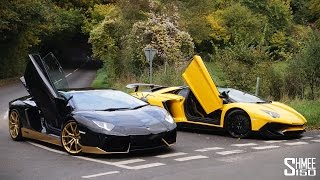 Download My Friend's New Aventador Miura 50 and SV Roadster Video