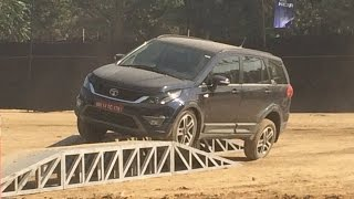 Download Tata Hexa Real Time Off Road Experience @vohrabs Video
